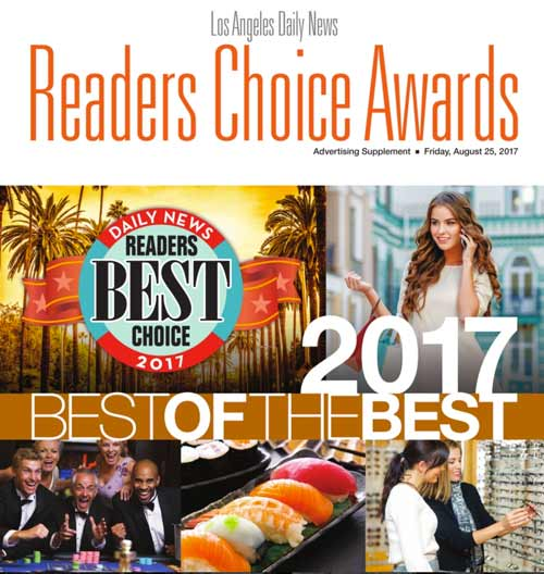 Los Angeles Daily News 2017 Reader's Choice Award
