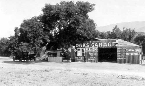 Castle Oaks Garage