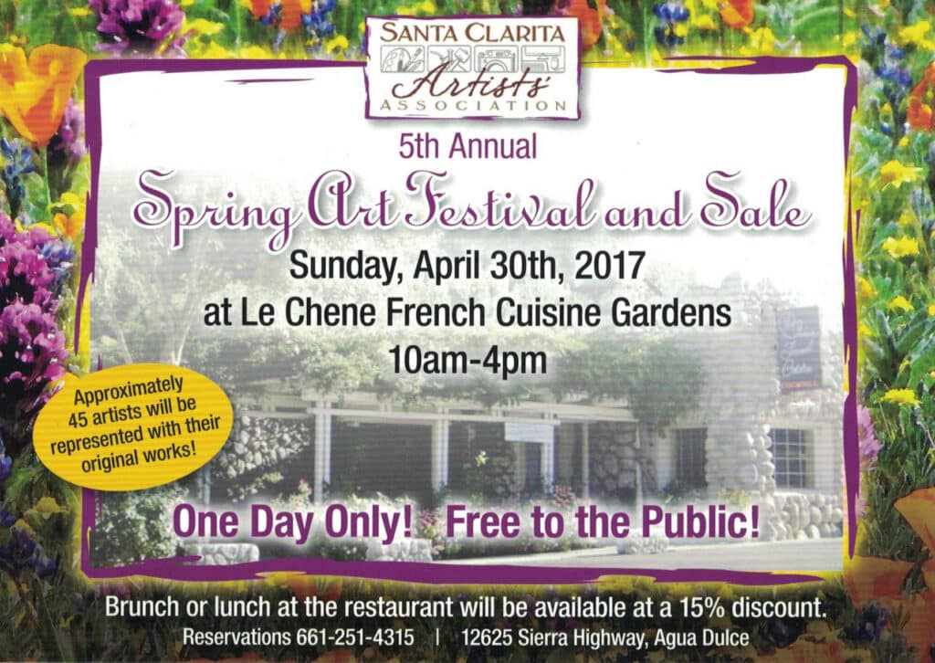 2017 Spring Art Festival at Le Chene