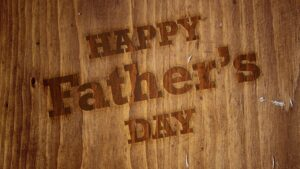 Father's Day 2017 Background Image