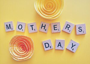 Mother's Day Scrabble Tiles