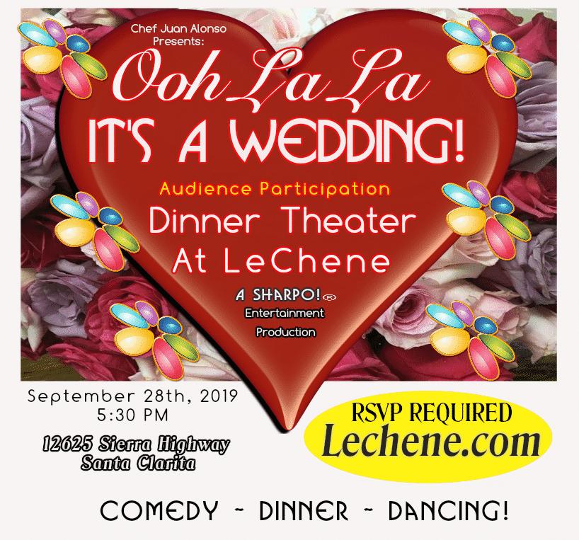 Ooh La La - It's A Wedding Graphic - September, 2019 - V2